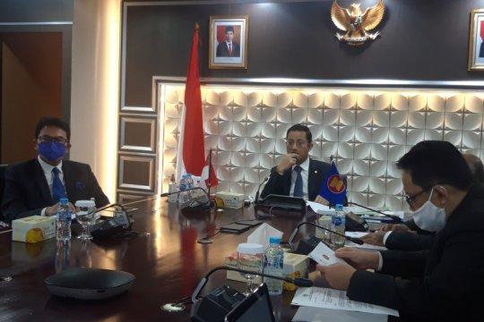 Kepada perwakilan ASEAN, Kemensos paparkan upaya mitigasi COVID-19