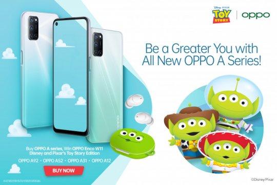"""Rayakan ultah Disney Pixar, OPPO luncurkan Enco W11 edisi """"Toy Story"""""""