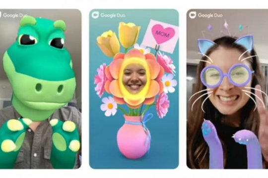 "Aplikasi ""video call"" Google Duo tambahkan mode keluarga"