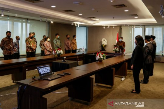 Menteri Erick lantik pejabat eselon baru perkuat pengawasan