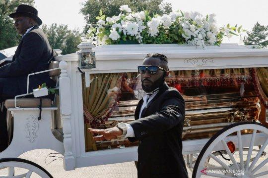 """Saat pemakaman, Floyd dipuji sebagai """"landasan gerakan anti rasisme"""""""