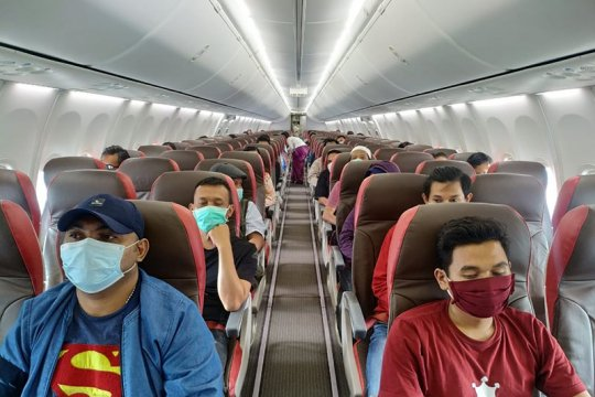 Lion Air akui angkut penumpang lampaui 70 persen pada kondisi tertentu