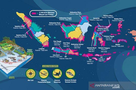 Kemenko Maritim: 27 provinsi telah tetapkan Perda RZWP3K