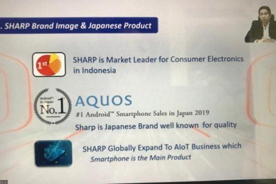 Tertarik pasar yang besar, Sharp Indonesia incar ponsel kelas atas