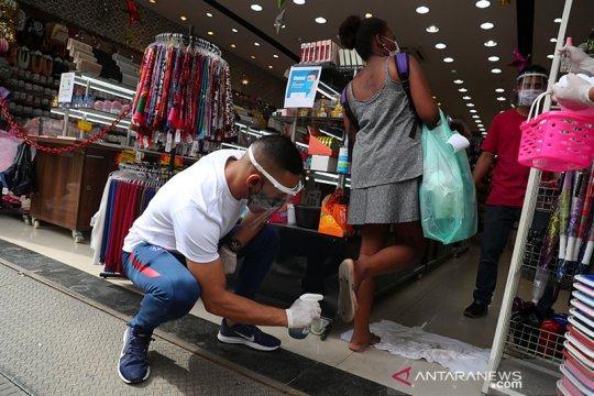 Ekonomi Sao Paulo Brazil kembali dibuka bahkan saat COVID-19 melonjak