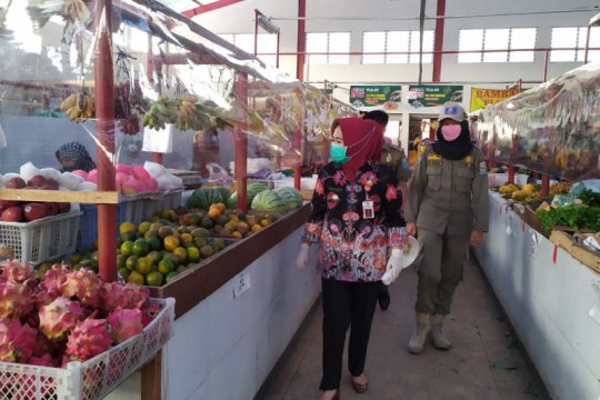 Bupati Purbalingga dorong penerapan protokol kesehatan di pasar