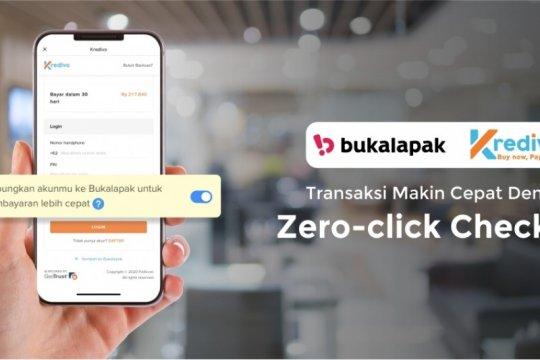 Kredivo gandeng Bukalapak untuk pembayaran digital Zero-click Checkout