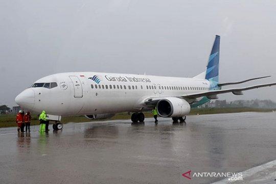 Satu penumpang Garuda New Delhi-Fiji meninggal, hasil tes PCR negatif