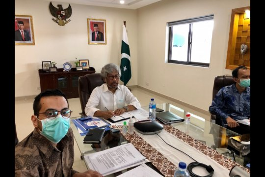 KBRI Islamabad dorong kerja sama ekonomi di tengah pandemi COVID-19