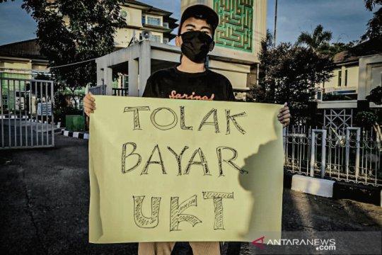 Mahasiswa UIN Bandung tolak bayar UKT, tuntut kampus benahi kompensasi