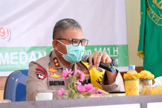 Kapolda Sumut tidak toleransi anggota Polri salahgunakan narkotika