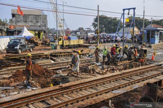 Pembangunan underpass Cibitung