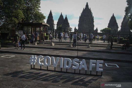Simulasi SOP pembukaan Candi Prambanan