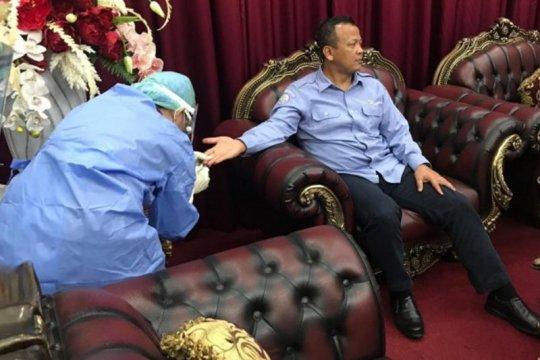Kunjungan kerja ke Sulut, Menteri Kelautan dites cepat COVID-19