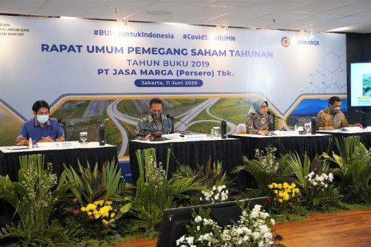 Jasa Marga bukukan laba bersih 2019 sebesar Rp2,21 triliun