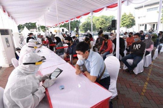 BIN: 179 orang reaktif di tes cepat massal di Surabaya