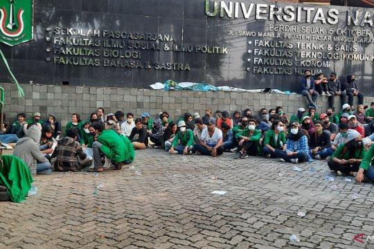 Mahasiswa Unas tuntut keringanan uang kuliah