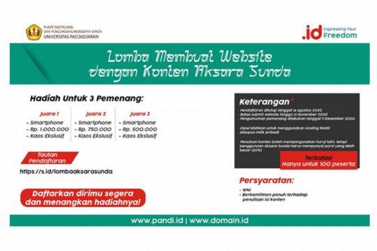 PANDI akan adakan lomba website aksara Sunda