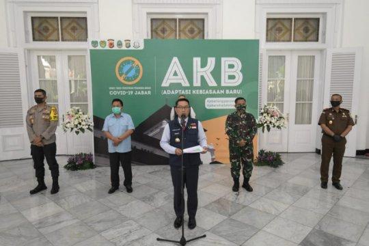 Ridwan Kamil: PSBB Jabar dilanjutkan hingga 26 Juni 2020