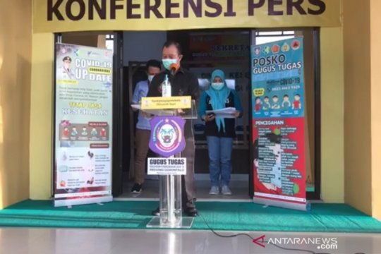 Pasien positif COVID-19 di Gorontalo bertambah 16 orang