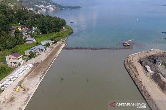 KemenPUPR lanjutkan pembangunan infrastruktur pariwisata di Danau Toba