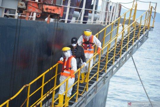 Evakuasi ABK tanker berbendera Panama