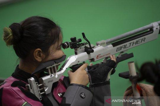 Petembak Indonesia tetap berlatih di tengah pandemi COVID-19