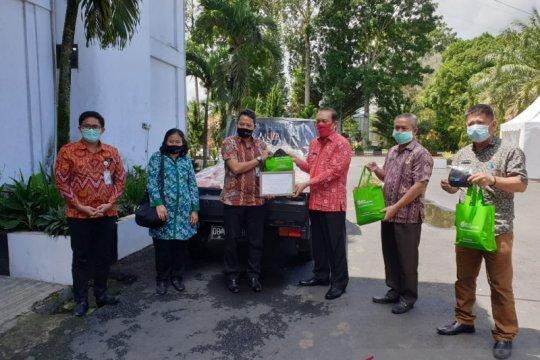 BPJAMSOSTEK bantu sembako warga Minahasa-Sulut terdampak COVID-19