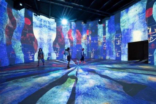 Pusat seni digital terbesar dunia dibuka di Prancis