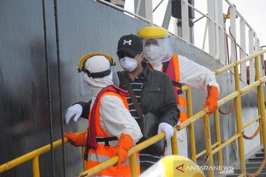 Tim SAR Aceh evakuasi awak kapal berbendera Panama