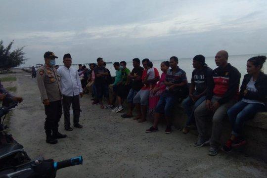Puluhan TKI asal Malaysia diamankan Polres Bengkalis Riau