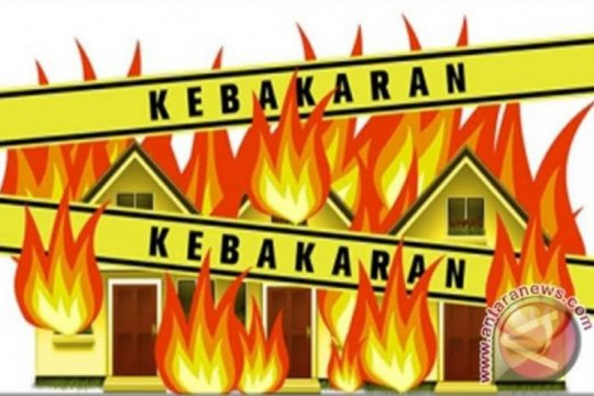 Kebakaran terjadi di Jakarta Utara