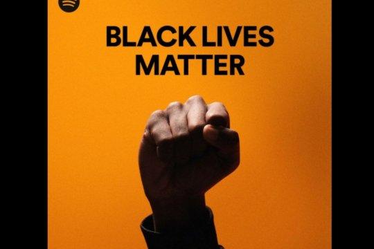 "Playlist ""Black Lives Matter"" alami lonjakan pelanggan di Spotify"