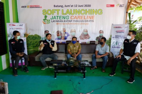 MRI-ACT luncurkan layanan mengantar pangan gratis di Batang