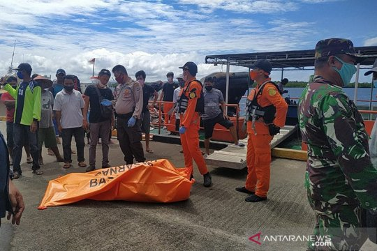 SAR gabungan temukan ABK jatuh dari kapal di Minahasa Utara