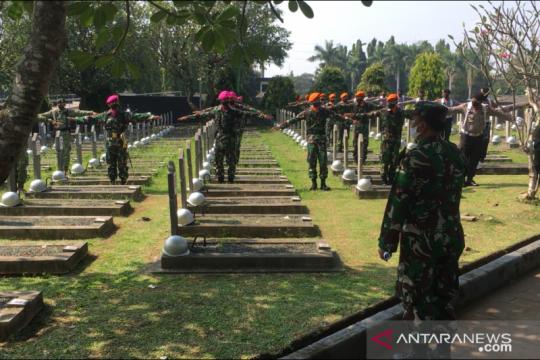 Geladi resik pemakaman mantan Kasad Pramono Edhie Wibowo dimulai