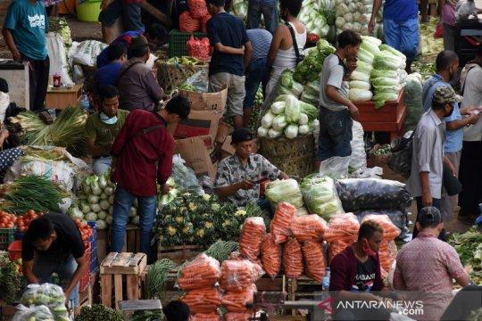 Kunjungi Pasar Kramat Jati, Mendag: Harga dan pasokan sembako aman