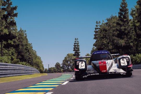 Tim Rebellion Williams Esport juarai 24 Hours of Le Mans virtual