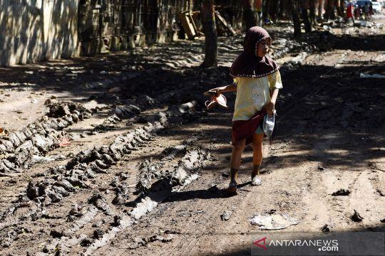 Suasana pascabanjir bandang di Bantaeng