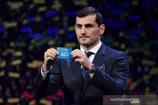 Casillas mundur dari pencalonan presiden federasi sepak bola Spanyol