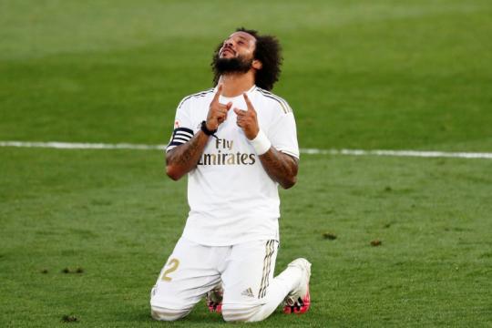 Real Madrid terancam kehilangan Marcelo sampai akhir musim