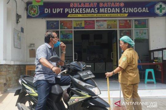 Puskesmas sempat tutup di Medan karena COVID-19 kembali beroperasi