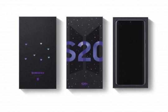 Ponsel Samsung Galaxy S20+ edisi BTS ditawarkan Rp17 jutaan