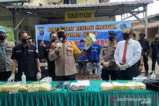Polisi tembak bandar narkoba di Sumut