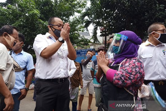 Dirut Pasar Jaya diprotes pedagang soal kebijakan ganjil-genap