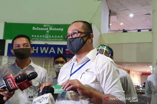 Dirut Pasar Jaya Arief Nasrudin dikabarkan positif COVID-19