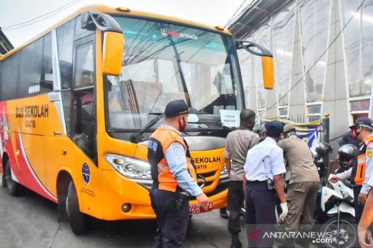 Dishub Bogor minta bus gratis Jakarta tidak hanya tersedia pada Senin
