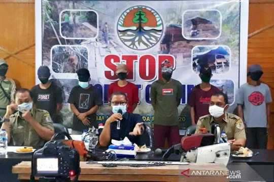 Tujuh warga Tasikmalaya ditangkap akibat pembalakan liar di Riau