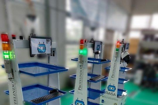 Dua rumah sakit di Jatim dapat bantuan robot RAISA