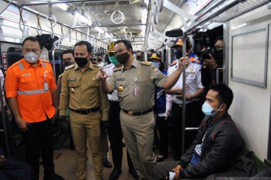 Gubernur DKI Jakarta tinjau Stasiun Bogor